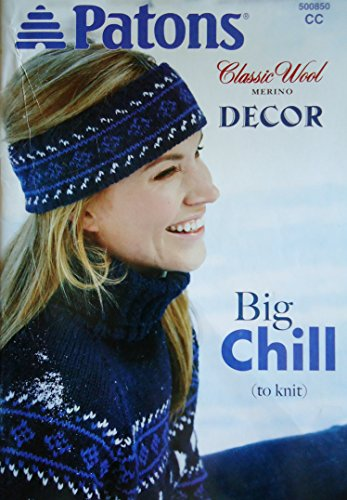 Patons Classic Wool Merino Decor Big Chill to Knit #500850 ()