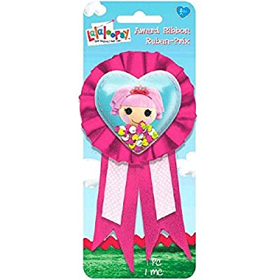 "Adorable Lalaloopsy Confetti Pouch Birthday Party Award Ribbon (1 Piece), Pink/Blue, 5 3/4"" x 3 1/8\"".: Toys & Games [5Bkhe0503891]"