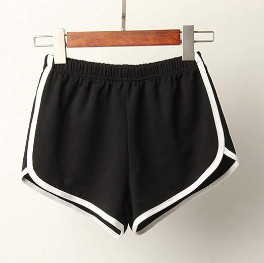 Women Hot Shorts PANTS Summer Causal Gym Yoga Running Beach Sports Plus Size UK