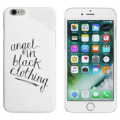 Weiß 'Angel In Black' Hülle für iPhone 6 u. 6s (MC00052586)