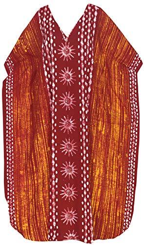 Jw Maxi Coprire Arancione Kaftan Caftano Vacanze Per Di Partito Loungewear La Spiaggia Giorni Kimono Tunica Libero Leela Lungo Vestito Tutti Vestiti Formato Pigiama x603 Donne I Cotone Batik n0Ok8wXNP
