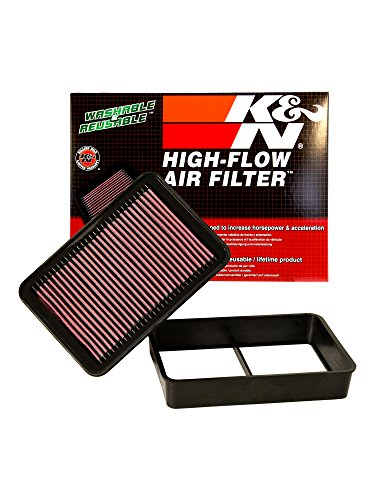 K&N 33-2392 High Performance Replacement Air Filter