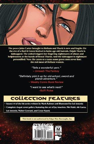 Dynamite Comics Books Dejah Thoris Warlord of Mars Green Men PICK // YOUR CHOICE