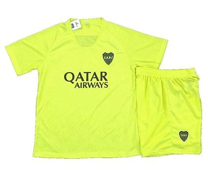 55bd79b086ab6 Amazon.com : Boca Juniors Soccer Away Men's Uniform Sets Jersey ...