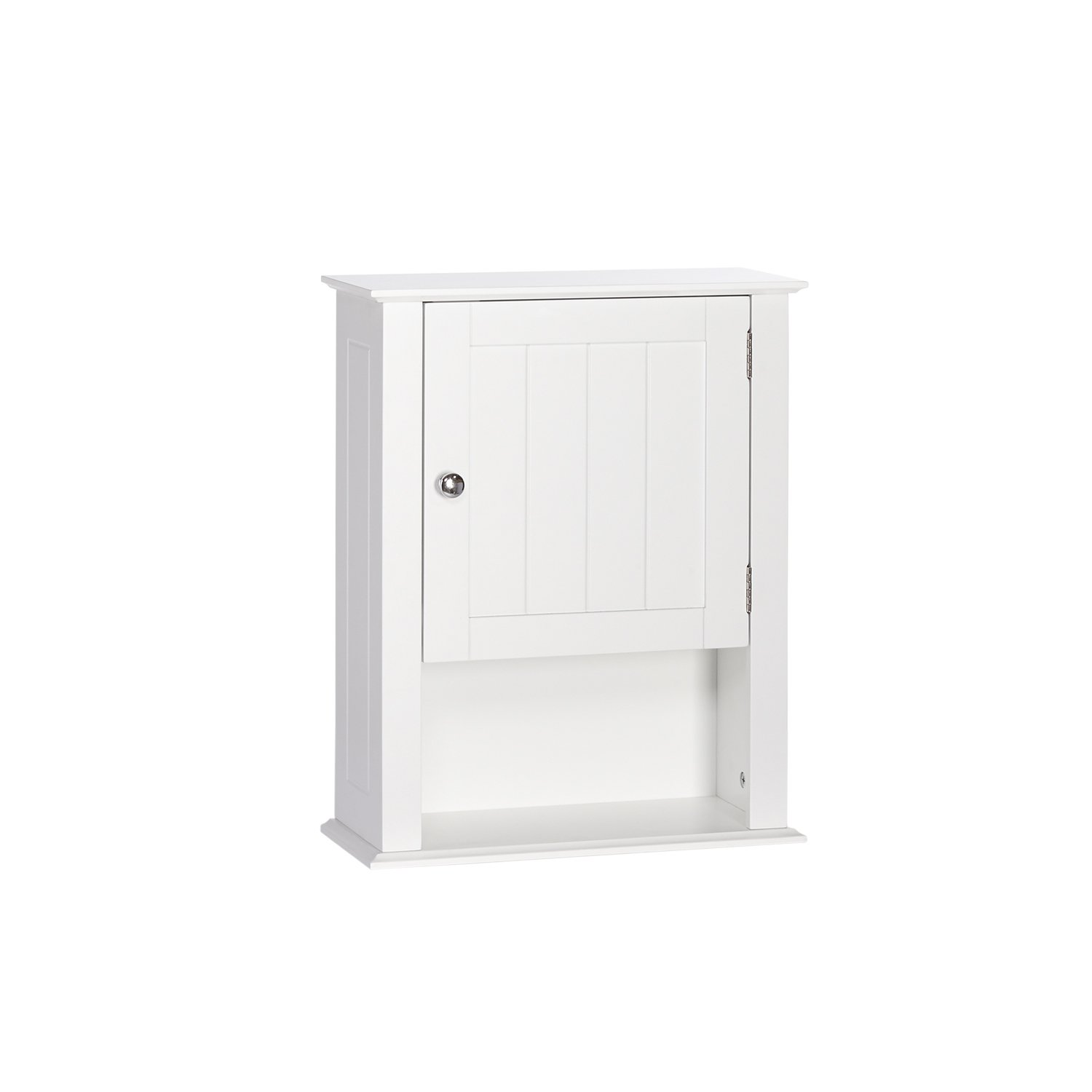 RiverRidge Ashland Collection Single Door Wall Cabinet, White Sourcing Solutions Inc. 06-088