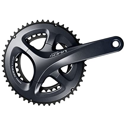 10731fdef8d Image Unavailable. Image not available for. Color: Shimano SORA 2x9-speed FC -R3000 Crank 50/34 175mm