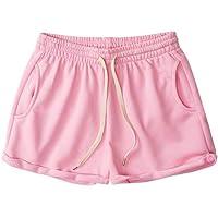 NA Sports Shorts Female Summer Students English Ribbon hot Pants Loose Casual Guard Pants Wide Leg Pants Running Running