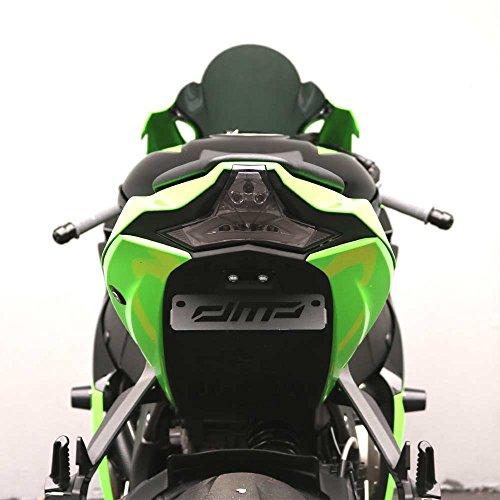 - DMP 2014-2016 Kawasaki Z1000, 2016-2019 Kawasaki ZX10R ZX10RR (16-18) Smoked Integrated LED Tail Light