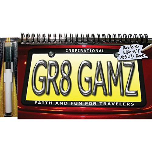 GR8 GAMZ: Faith-based game and activity book