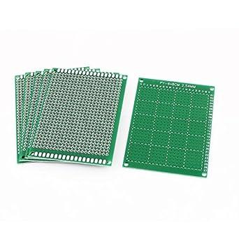 uxcell a15082500ux0217 6 piece 6 cm x 8 cm diy prototype paper rh amazon com