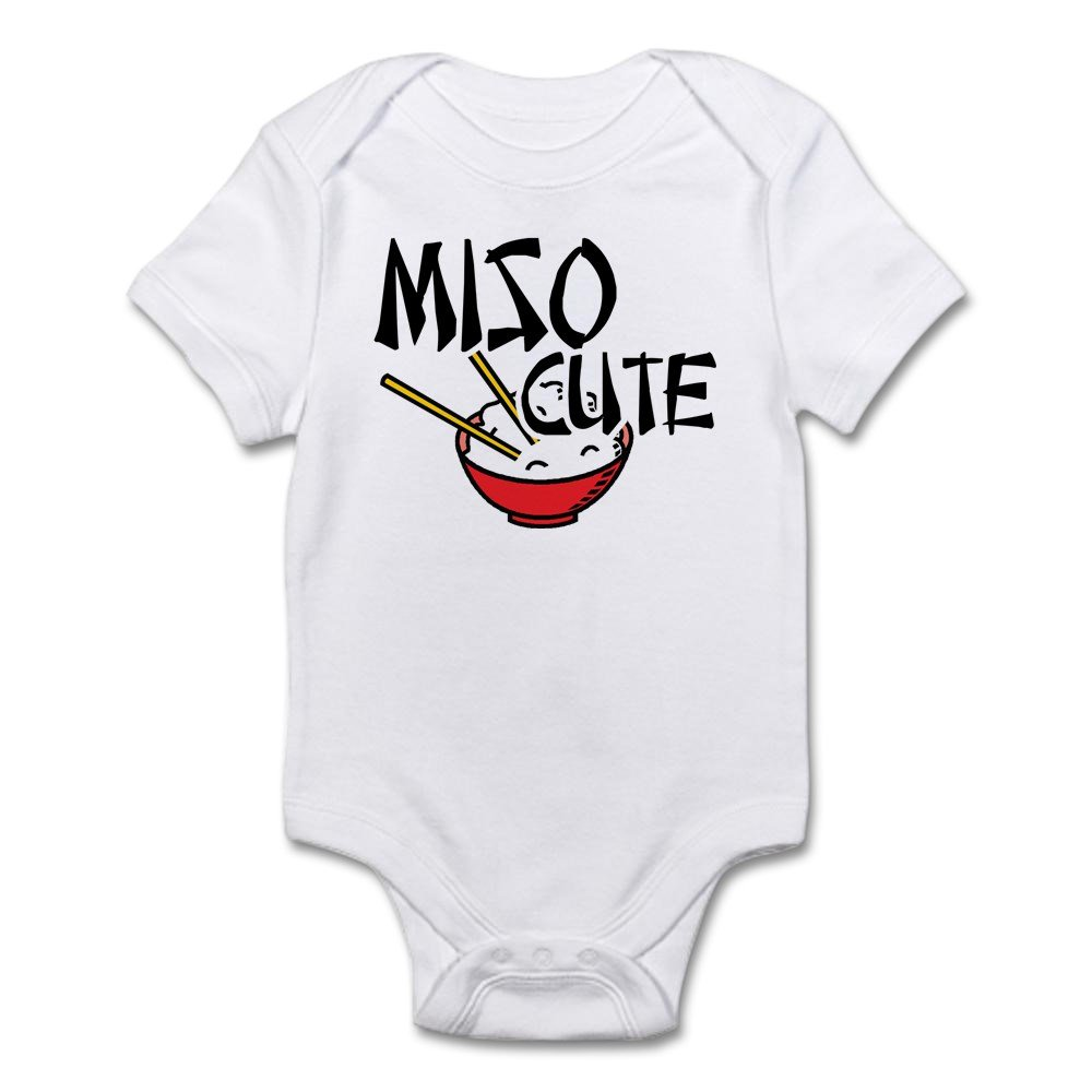 fc6922cb5 Amazon.com  CafePress Miso Cute Body Suit Baby Bodysuit  Clothing