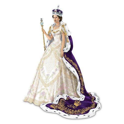 Figurine: The Coronation Of Queen Elizabeth II Figurine by The Hamilton ()