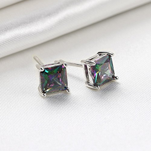 BLOOMCHARM Exquisite&Fancy Design Stud Fashion Dangle Drop Long Earrings Jewelry, Gifts for Women Girls by BLOOMCHARM (Image #3)