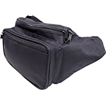 SoJourner Black Fanny Pack - Packs for men, women | Cute Festival Waist Bag Fashion Belt Bags
