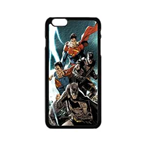Superman with Batman picture for iPhone 4s inch back cover