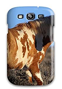 Anti-scratch And Shatterproof Horse Phone Case For Galaxy S3/ High Quality Tpu Case
