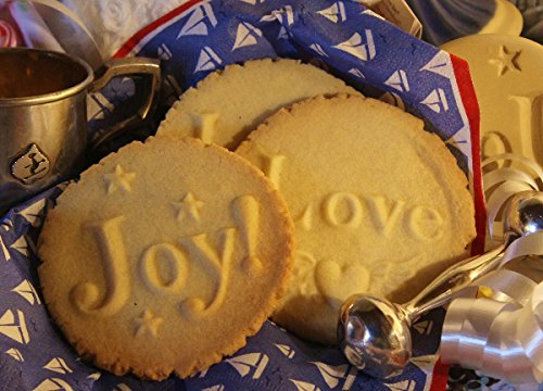 Brown Bag - JOY - Say It With Cookies Series Cookie Stamp - -