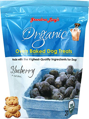 Grandma Lucy's - Organic Baked Dog Treats - Blueberry - 14Oz