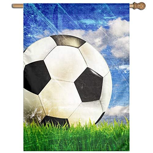 YUANSHAN Single Print Home Garden Flag Sports Football Soccer Polyester Indoor/Outdoor Wall Banners Decorative Flag 27