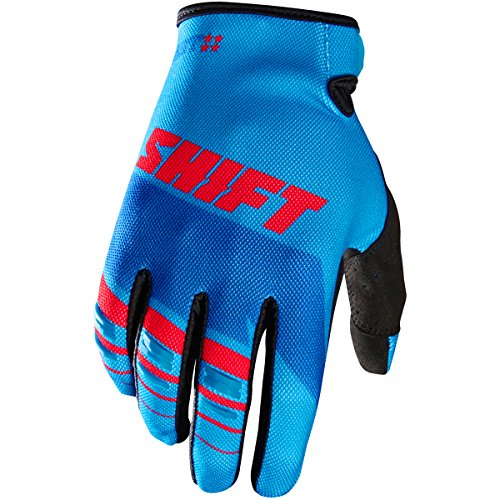 (Shift Racing Assault Men's MX Motorcycle Gloves - Blue / 2X-Large)