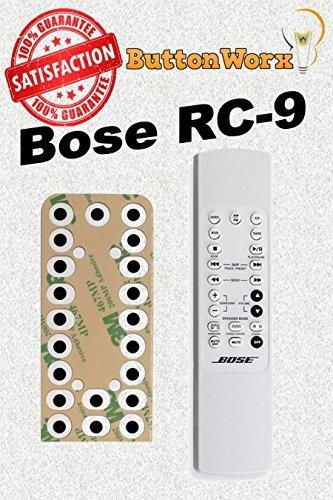 Bose rc-9rc-9a Control Remoto botón Kit de reparación para estilo de vida Music Center 3,5,8,12