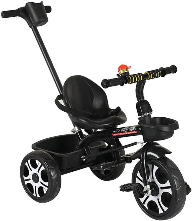 Triciclo De Niños Kids 3 Wheeler Pedal Bike Triciclo Trike Bicicleta Buggy para Niños Control De Manija,d