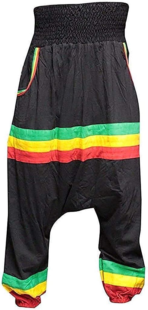 Shopoholic Fashion Hombre Hippie Ratsa Pantalones Haren Hombre Pantalones