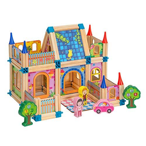 BABYLIAN Building Blocks, 3D Wooden Assembled Toy for Toddlers Kids Children Preschool Boys and Girls DIY Construction…