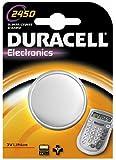 Duracell CR 2450 - Pilas (Litio, Button/coin, CR2450, Plata, Ampolla)