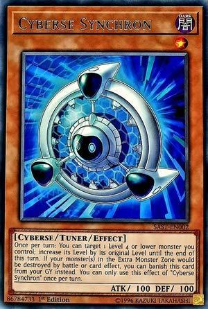 Yu-Gi-Oh! - Cyberse Synchron - SAST-EN002 - Savage Strike - First Edition - Rare