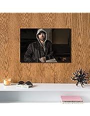 Eminem MDF Wall Art 60x40 Centimeter HOOLIGANZZ - 2725611174350