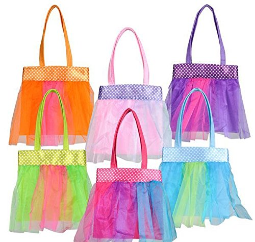 DollarItemDirect 7.5'' TUTU TOTE BAG, Case of 72 by DollarItemDirect