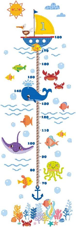 Tableau de Croissance B/éb/é R/ègle D/écoration de la chambre des enfants Yanhonin Toise R/ègle pour enfants