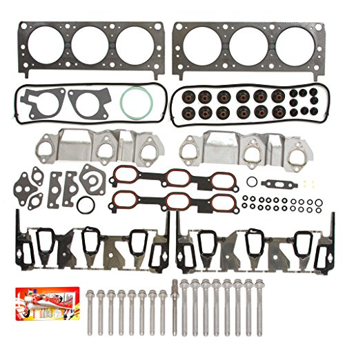 96-05 Chevrolet Pontiac Oldsmobile 3.1 & 3.4 Performance Head Gasket Set Head Bolts