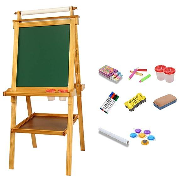 Amazon.com: Easel - Tabla de dibujo infantil doble cara ...