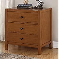 Source One A404-8061025 Odetta Wood Nightstand