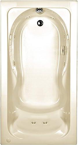 American Standard 2770018W.222 Cadet Ever Clean Whirlpool Bath Tub