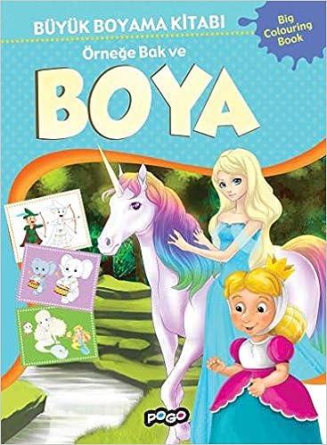 Buyuk Boyama Kitabi 2 Ornege Bak Ve Boya Collective