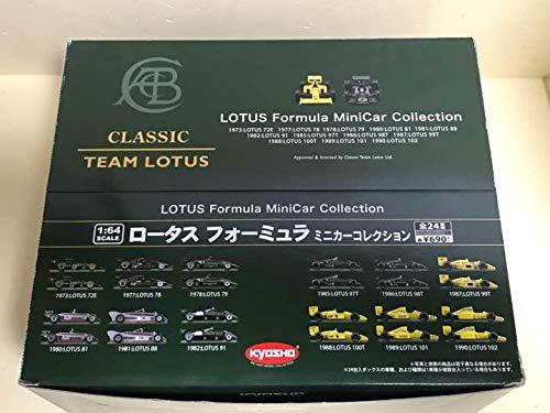 京商 1/64 ロータス フォーミュラ フルコンプ B07SFLV1CR