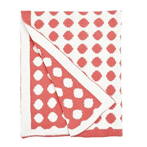 Petit Nest Chloe Punch Dot Chenille Blanket by Lonni Paul by Petit Nest