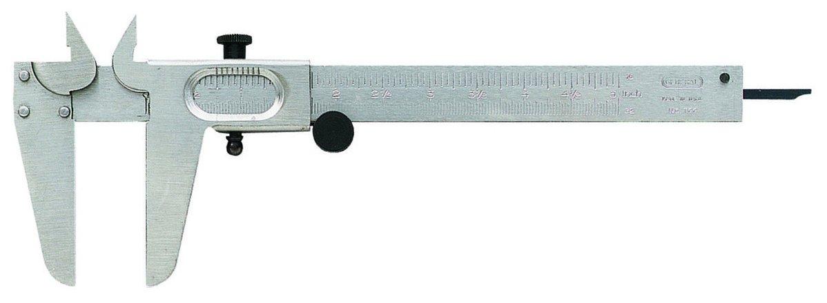 General Tools 722 Metric and English Vernier Caliper by General Tool (Image #1)