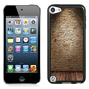 NEW Unique Custom Designed iPod Touch 5 Phone Case With Wine Cellar Wall_Black Phone Case