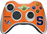 Syracuse University Xbox 360 Wireless Controller Skin - Syracuse Orange Vinyl Decal Skin For Your Xbox 360 Wireless Controller