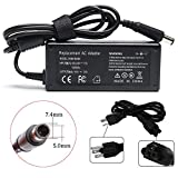 18.5V 3.5A 65W AC Adapter Laptop Charger for HP Pavilion G4 G6 G7 G32 G42 G56 G60 G61 G62 G71 G72 DV3 DV4 DV5 DV6 DV7 DM4 M6 M7 Series,EliteBook 2540p 2560p 2570p 2730p 2740p Power Supply Cord