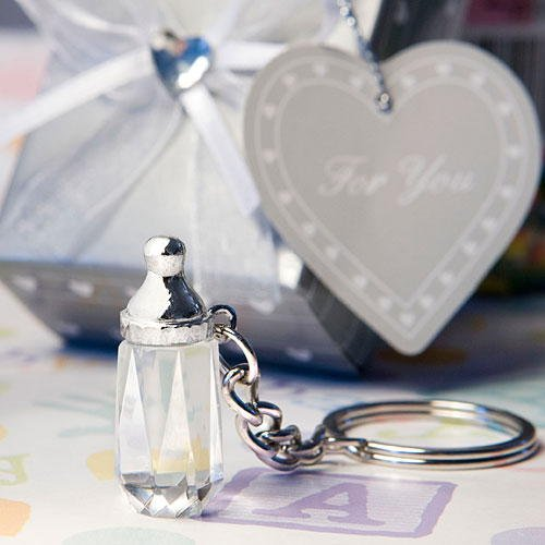 Baby Bottle Keychain Favors - 4