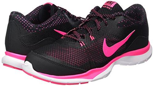 Para white Zapatillas Gimnasia Print Flex 5 Hyper Pink Nike Mujer black De Negro Wmns Trainer wRn8qnXTA