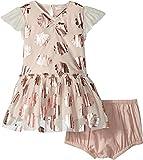 Stella McCartney Kids Baby Girl's Bellie Seashell Print Tulle Dress (Infant) Pink 12
