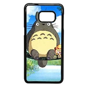 Samsung Galaxy Note 5 Edge phone case Black Ghibli-My-Neighbo AWWD6332438