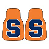 Syracuse University Orange Carpet Car Floor Mats - 2-Piece