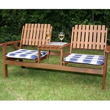 Ordinaire Jack And Jill Garden Love Bench Seating